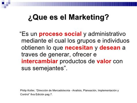 Que Es Un Mba En Marketing by Direccion Marketing