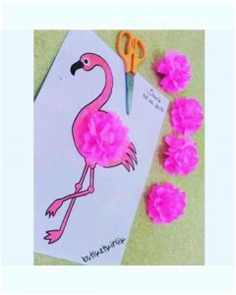 flamingo craft projects flamingo craft idea for crafts and worksheets for