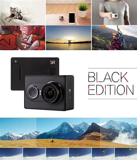Xiaomi Yi Travel International Edition Black wts gt xiao yi 1080p waterproof casing
