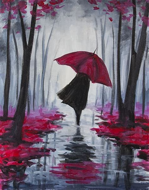 paint nite pass learn to paint autumn stroll ii