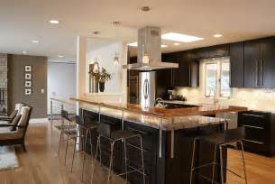 Open Kitchen Island by Open Kitchen Floor Plans With Islands Home Design And