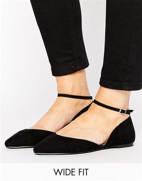 wide fit flat shoes faith wide fit faith wide fit al ankle flat shoes