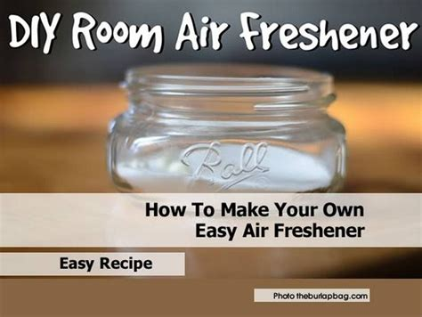 Room Freshener Recipe by How To Make Your Own Easy Air Freshener