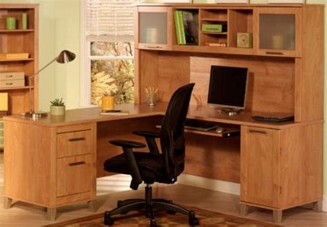 60 desk with hutch somerset maple cross 60 inch l desk with hutch wc814730