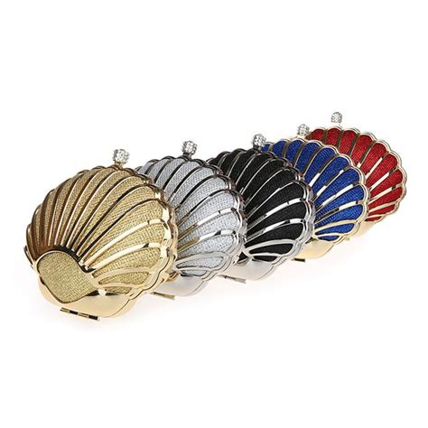 Shell Shape Clutch 686 best bridal clutch evening bags images on