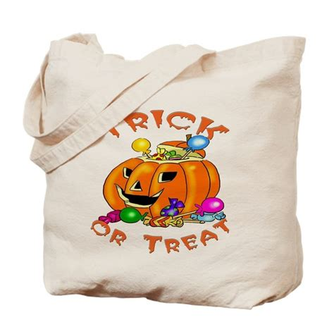 Wyldes Bag Of Tricks Treat Purse by Trick Or Treat Pumpkin Tote Bag By Familyfavorites
