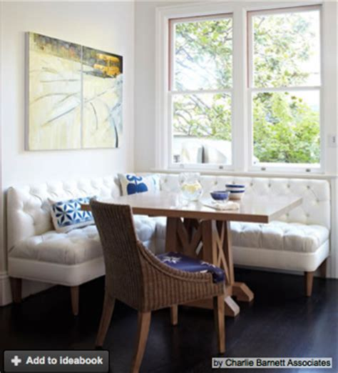 Corner Banquette Seating by Cozy Kitchen Corner Banquettes Charmean Neithart