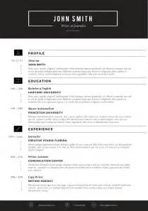 Template For Resume by Sleek Resume Template Trendy Resumes