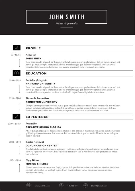 microsoft resume template word 2010
