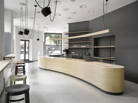 Minimalist Cafe Interior Design by Minimalist Cafe In Prague Residence Design