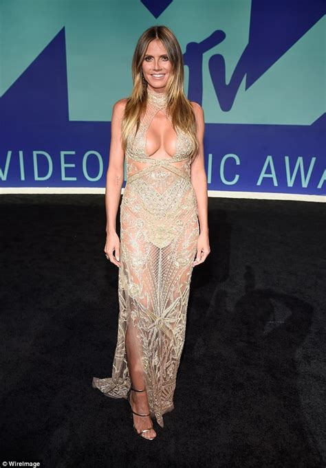 Dress Heidy heidi klum posts a sneak peek of vma s dress