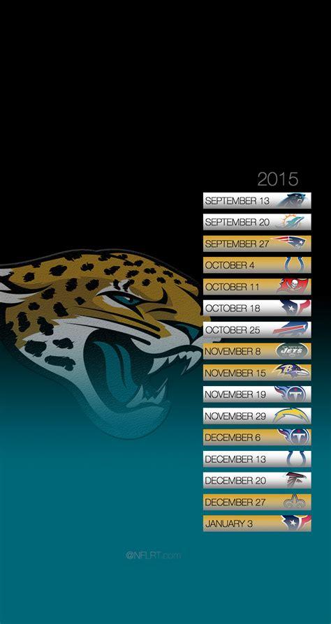 jacksonville jaguars scedule 2015 nfl schedule wallpapers page 5 of 8 nflrt