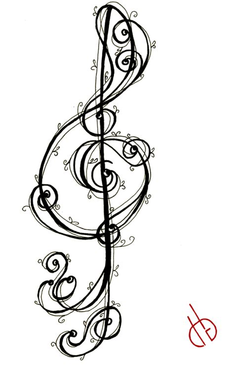 treble clef bass clef tattoo designs treble clef pictures clipart best