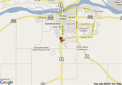 Criminal Record Check Prince Albert Map Of 8 Motel Prince Albert Prince Albert