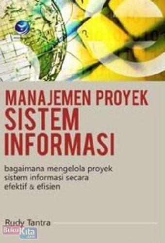 Buku Sistem Informasi Ekonomi bukukita manajemen proyek sistem informasi