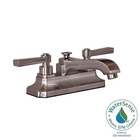 martha stewart bathroom faucet martha stewart living skylands 4 in centerset 2 handle