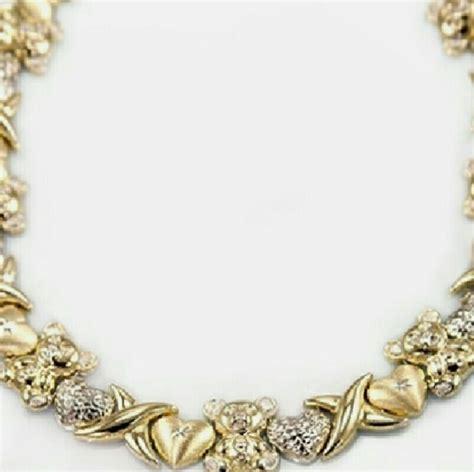 40 jewelry 10k gold xoxo necklace from amanda s
