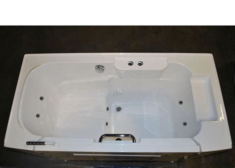 slide in bathtub wheelchair accessible slide in tub whirlpool jetted bathtub white