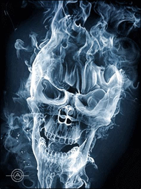 smoke skull skulls pinterest