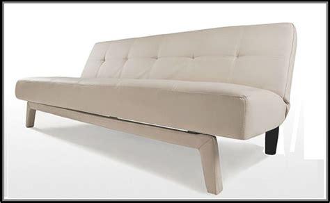 letti moderni ecopelle divano letto moderno erica180x80 bianco nero ecopelle