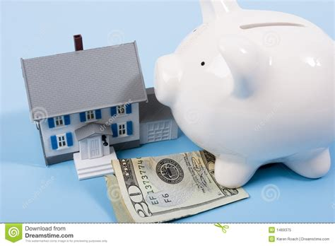 house loan without down payment mortgage and down payment royalty free stock photo image 1469375