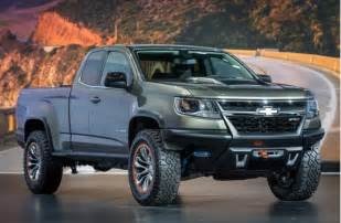 Ask TFLTruck: Will They Build the Chevy Colorado ZR2 Off Road Concept Diesel Pickup? The Fast