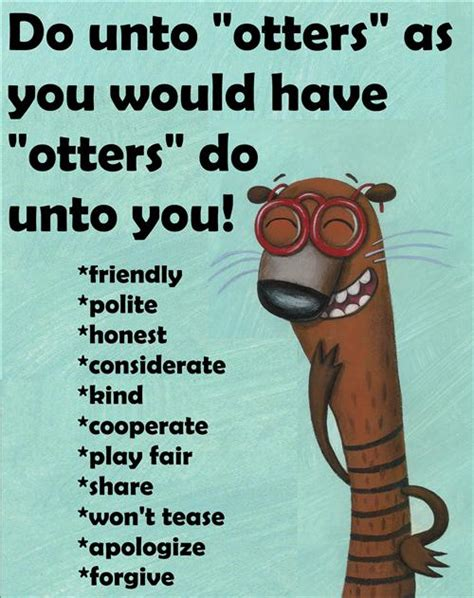do unto otters a graham erin behavioral expectations
