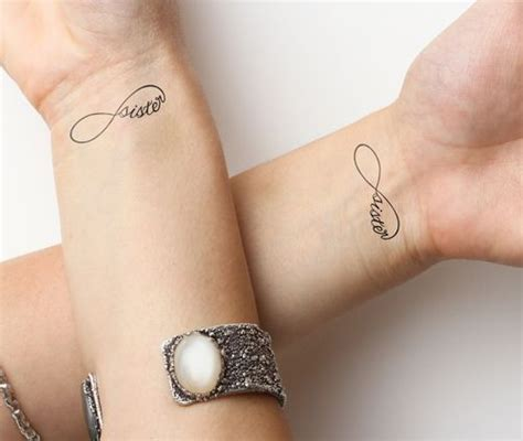 sister tattoo ideas small best 25 small infinity tattoos ideas on