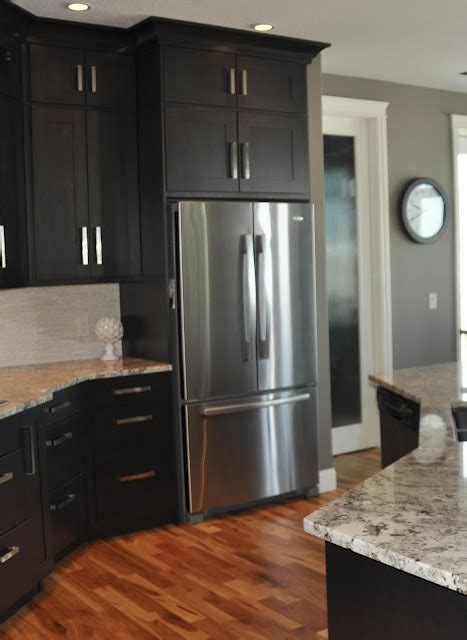 grey walls in kitchen dark cabinets with gray walls this is what i think i