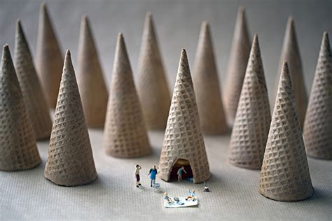 Miniature by Big Appetites Miniature People Living In A World Of Giant