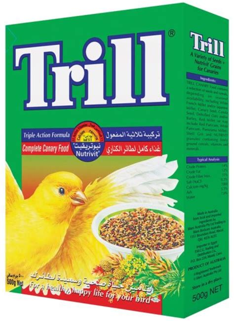 trill bird seed trill canary bird seed 500g price review and buy in dubai abu dhabi and rest of united arab