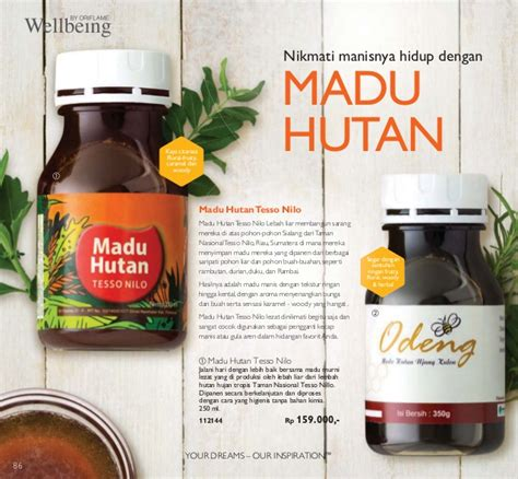 Oriflame Wellbeing Madu Hutan Tesso Nilo 250 Ml katalog oriflame mei 2016 of the year 2016 indonesia
