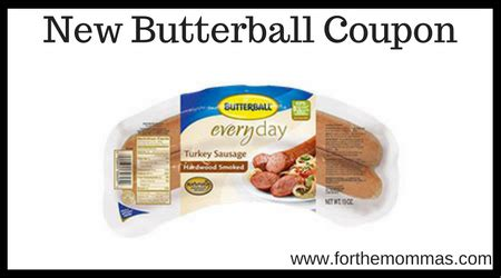 printable butterball turkey coupons new butterball coupon worth 0 55 store deals ftm