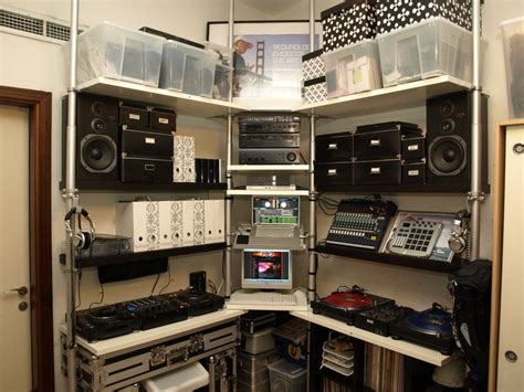 studio apartment setup exles 41 best home dj studio images on black