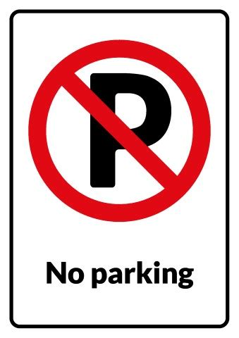 no parking signs template np parking signs images frompo 1