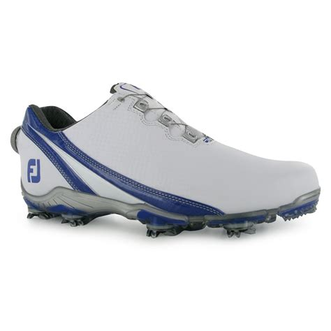 footjoy dna golf shoes footjoy dna boa golf shoes mens white royal trainers