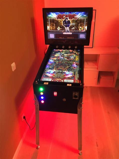 setup rgb led stripes   virtual pinball