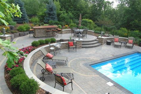 Floor And Decor Georgia brick traditional pool minneapolis by blackstone