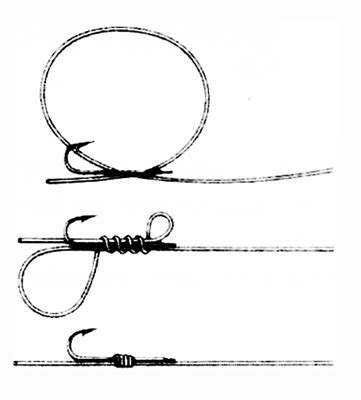 how to tie a fishing hook fishing knots
