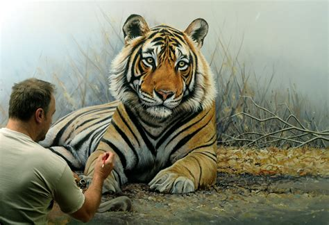 tiger paint prince of india size tiger painting