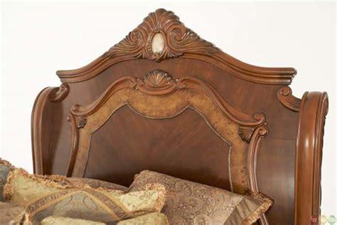 cortina sleigh bedroom set california king n65000cksl 28 michael amini cortina traditional california king sleigh bed by aico