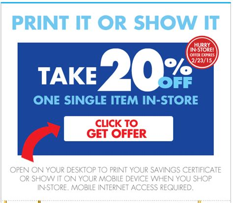 20 percent off bed bath beyond bed bath and beyond printable coupons