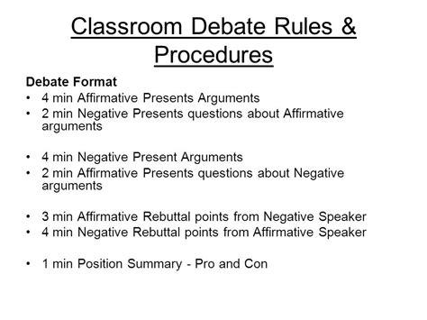 Classroom Debate Layout | classroom debate ppt video online download