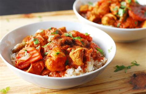 German Kitchen Knives cape malay chicken and vegetable curry foodal