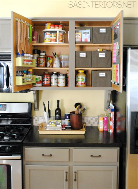 organizing ideas for kitchen kitchen organization ideas for the inside of the cabinet