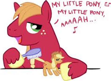 image big mac brushing applejack.jpg   my little pony
