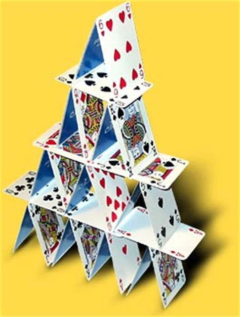 how to build a house of cards the link devotional february 2009