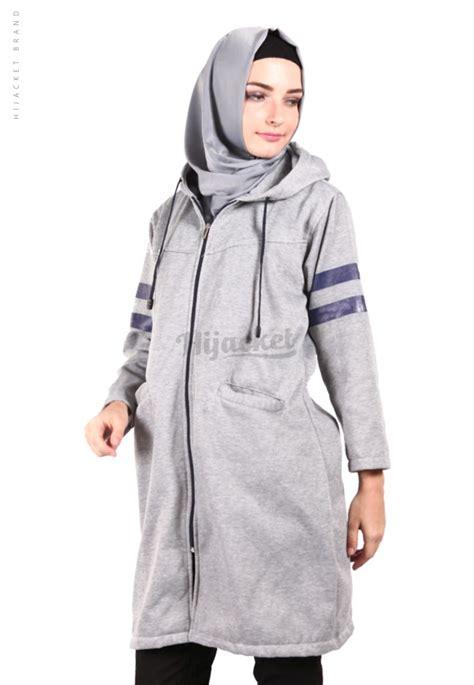 Jaket Berkualitas Original Hijacket Beautix Hijaber Magnum jaket hijaber beautix skygrey hijacket jaket muslimah distro beda