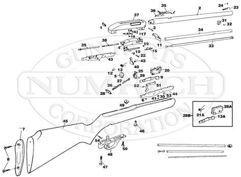 marlin c 9 parts diagram 30 best marlin glenfield 22 model 60 images on