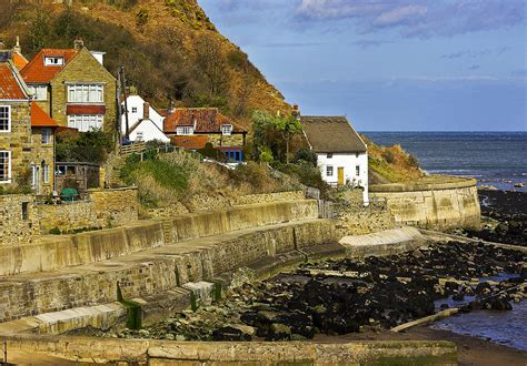 By The Bay Cottages by Cottages By The Sea Photograph By Trevor Kersley